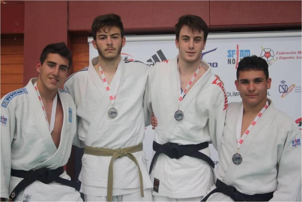 Francisco Ruperto, de las Escuelas Deportivas de Getafe, consiguió la medalla de oro de la categoría cadete en -81 kg