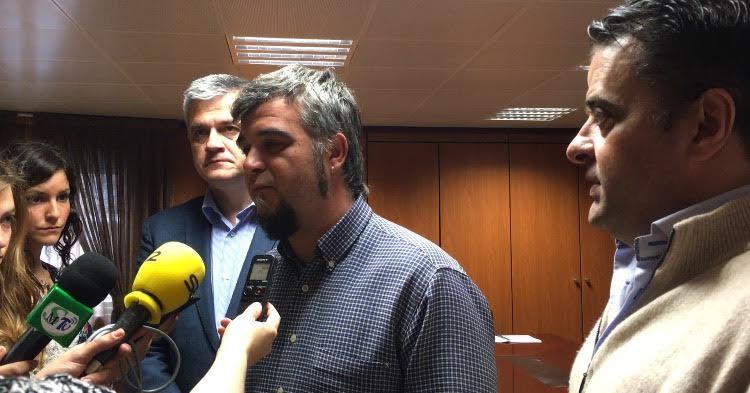 Gabriel Ortega de Ganar Móstoles junto a PSOE e IUCM