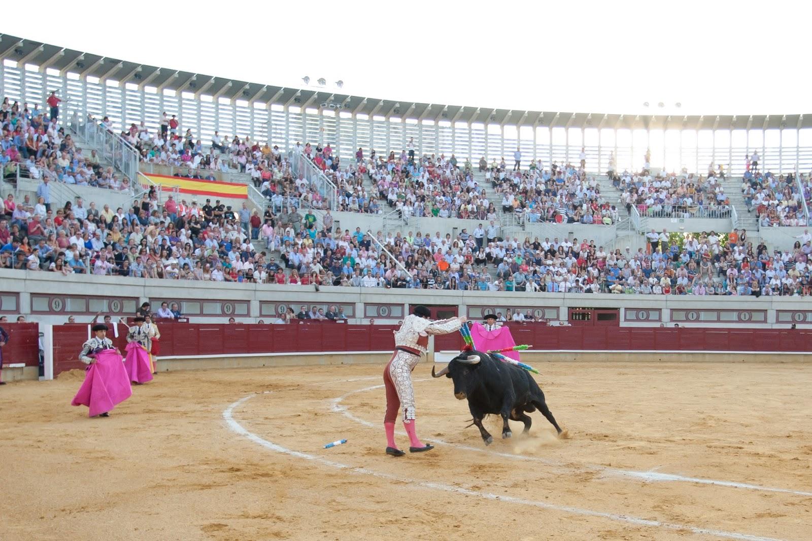 Una de las pocas corridas de toros que se han eralizado en el cosío de la ciudad