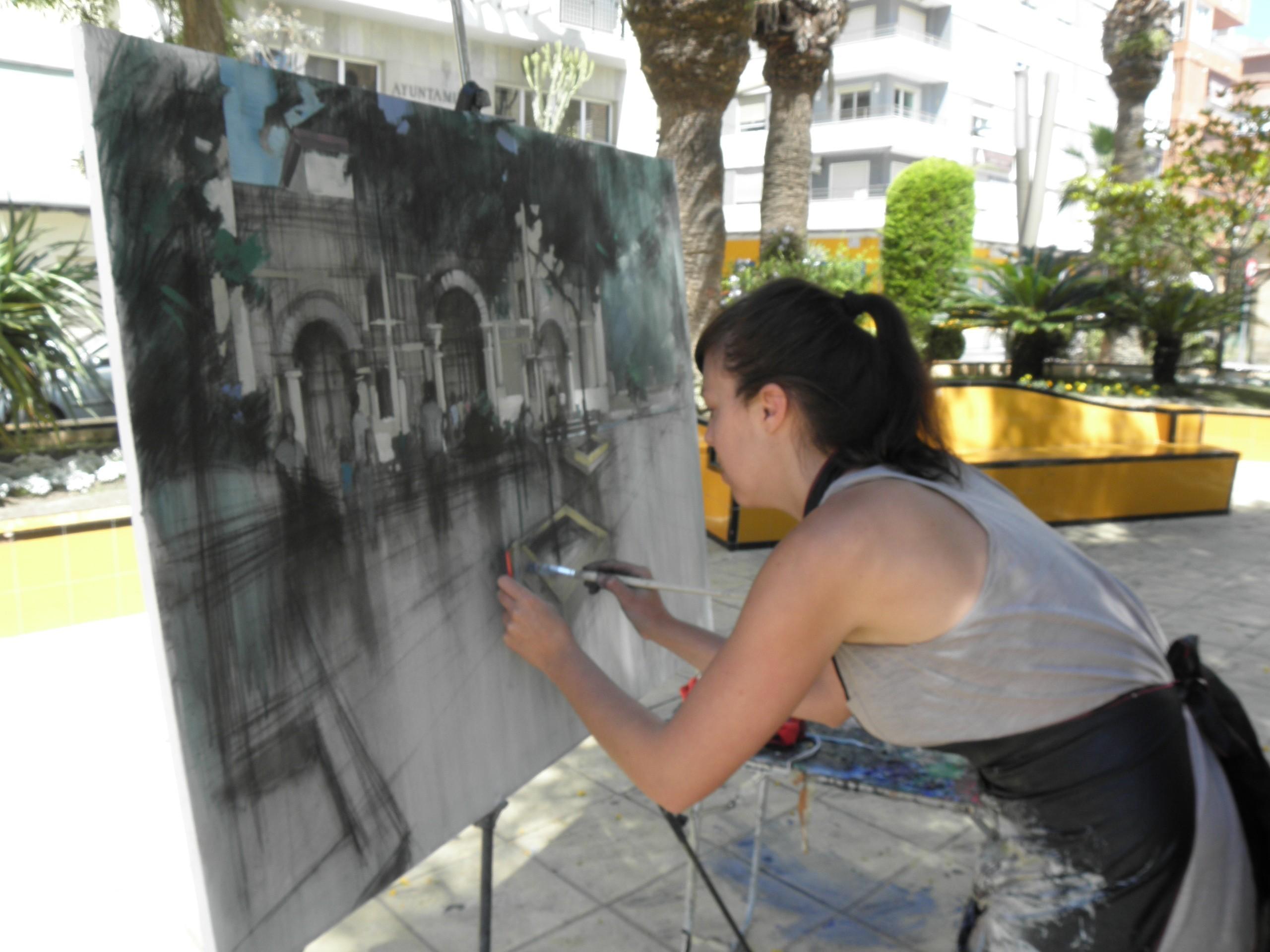 Alcorc n primer concurso este s bado de pintura r pida - Pintores alcala de henares ...