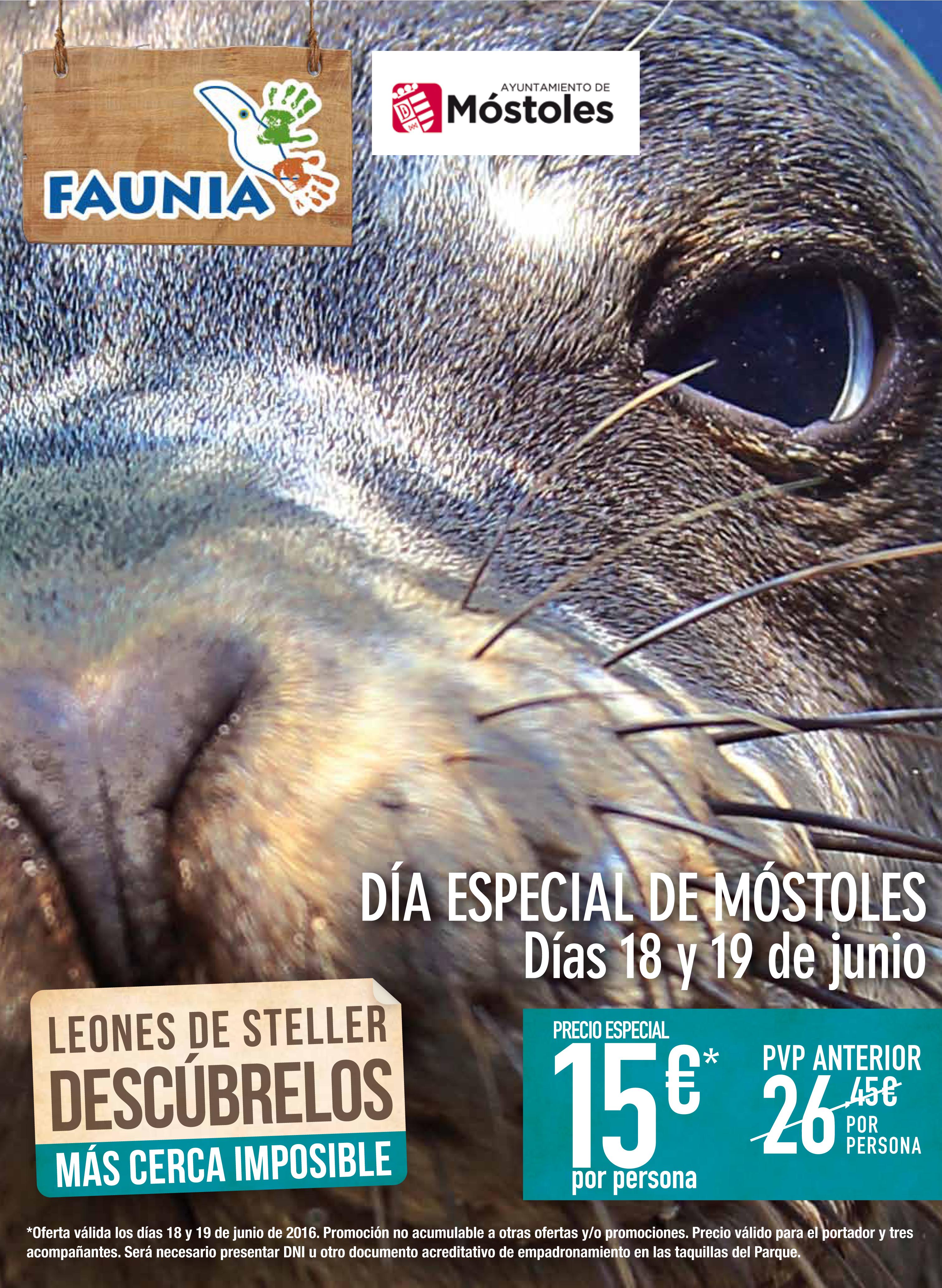 OPEN DAYS FAUNIA MOSTOLES 26x35cm