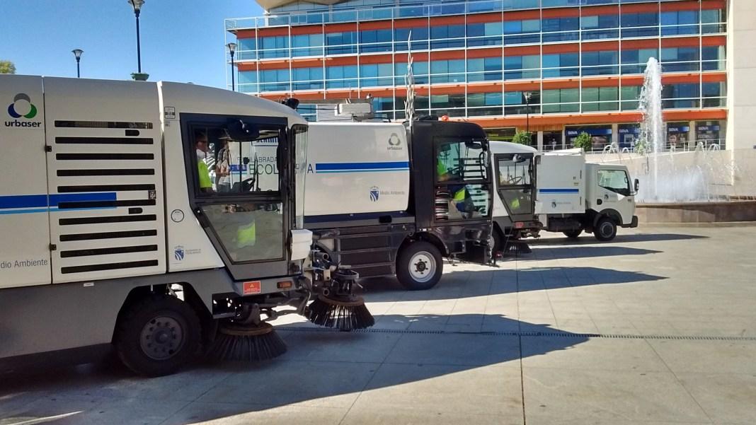 Fuenlabrada cinco nuevos veh culos para la limpieza - Empresas de limpieza en fuenlabrada ...