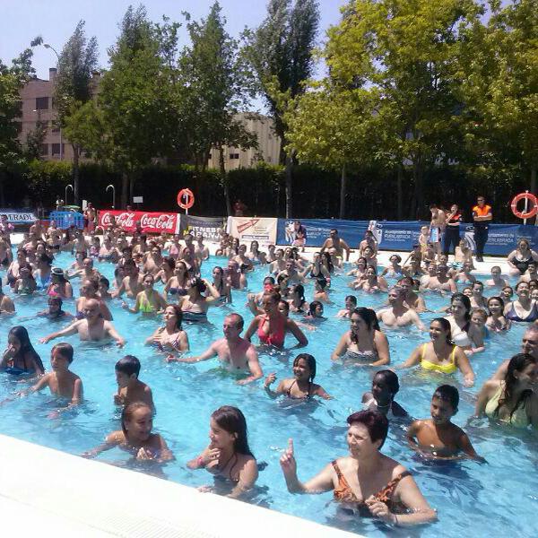 Fuenlabrada las piscinas de la ciudad deportiva ferm n for Piscina fuenlabrada