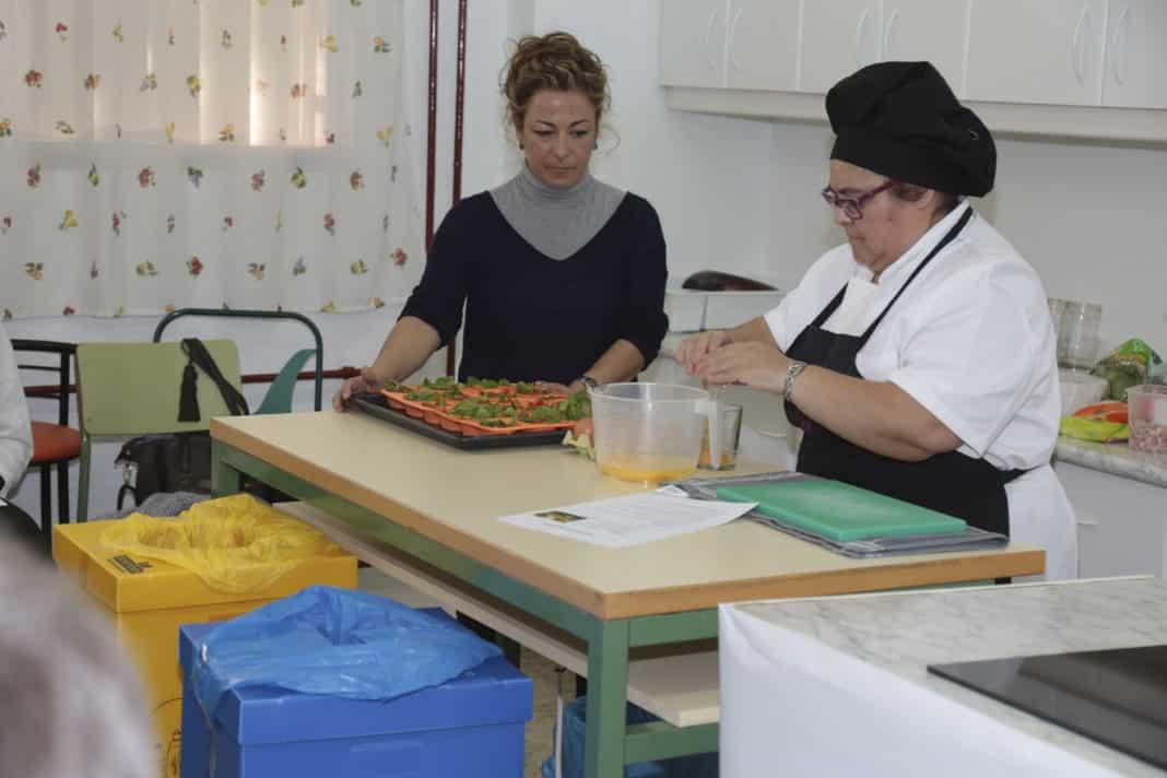 Legan s un taller de cocina ense a a no desperdiciar for Taller de cocina teruel