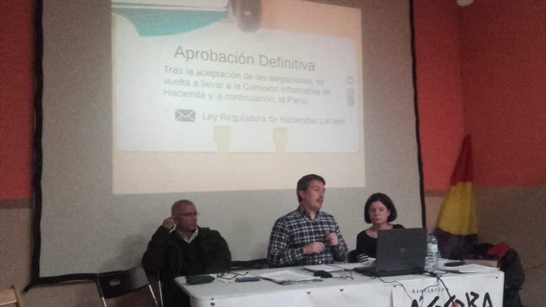 Ahora Getafe durante el desarrollo de la Asamblea que se hizo en el Ágora. Foto: Ahora Getafe