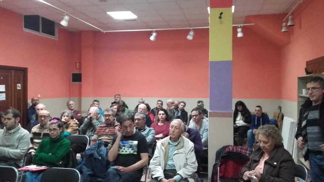 Participantes de la asamblea convocados por Ahora Getafe. Foto: Ahora Getafe