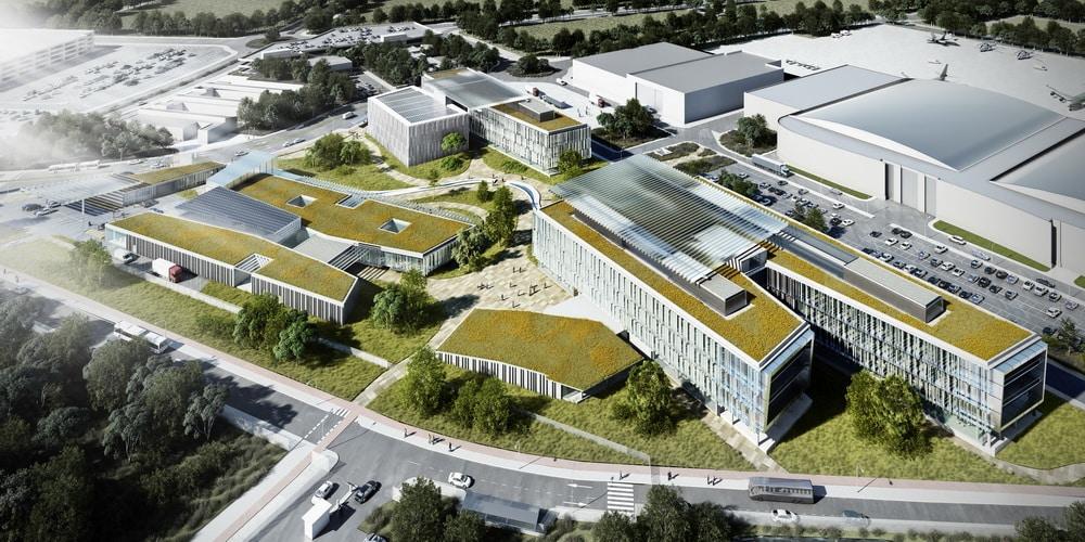 Getafe airbus ampl a sus oficinas centrales en m s de 100 for Oficinas bankia getafe