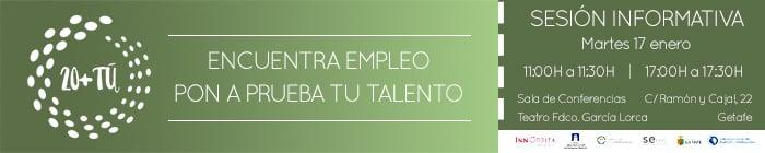Encuentra Empleo Getafe 20+ Tú