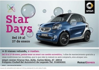 Star Days Smart Citycar Sur Madrid
