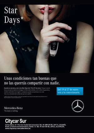 Star Days Mercedes Benz Citycar Sur Madrid