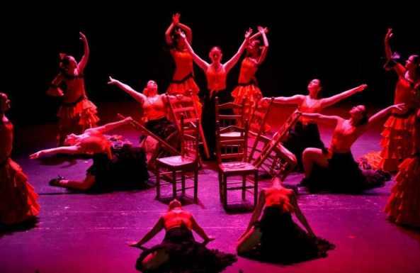 caliente x clasificado baile en Leganés
