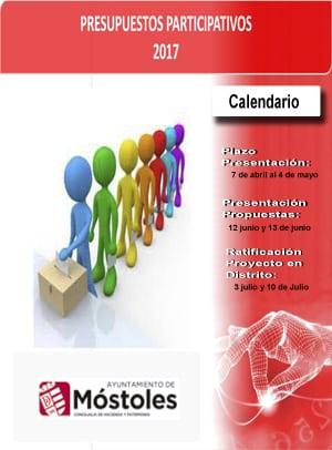 Presupuestos Participativos 2017 Móstoles