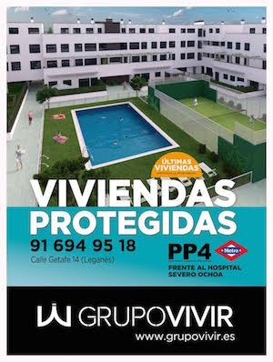 Vivienda Protegida Leganés - Grupo Vivir