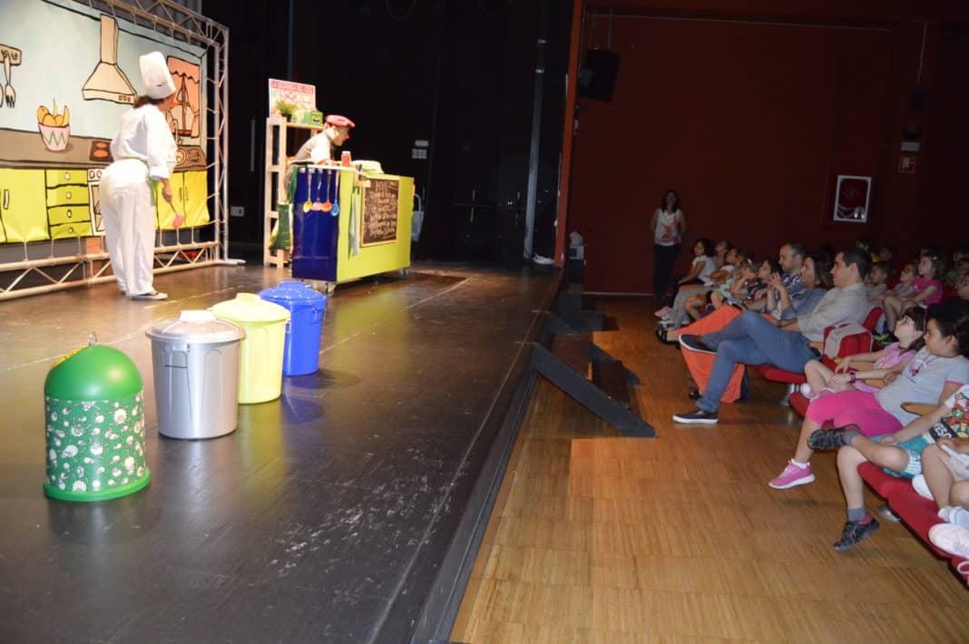 Alcorc n 400 escolares celebran el d a del medio ambiente asistiendo a una representaci n de - Teatro en alcorcon ...