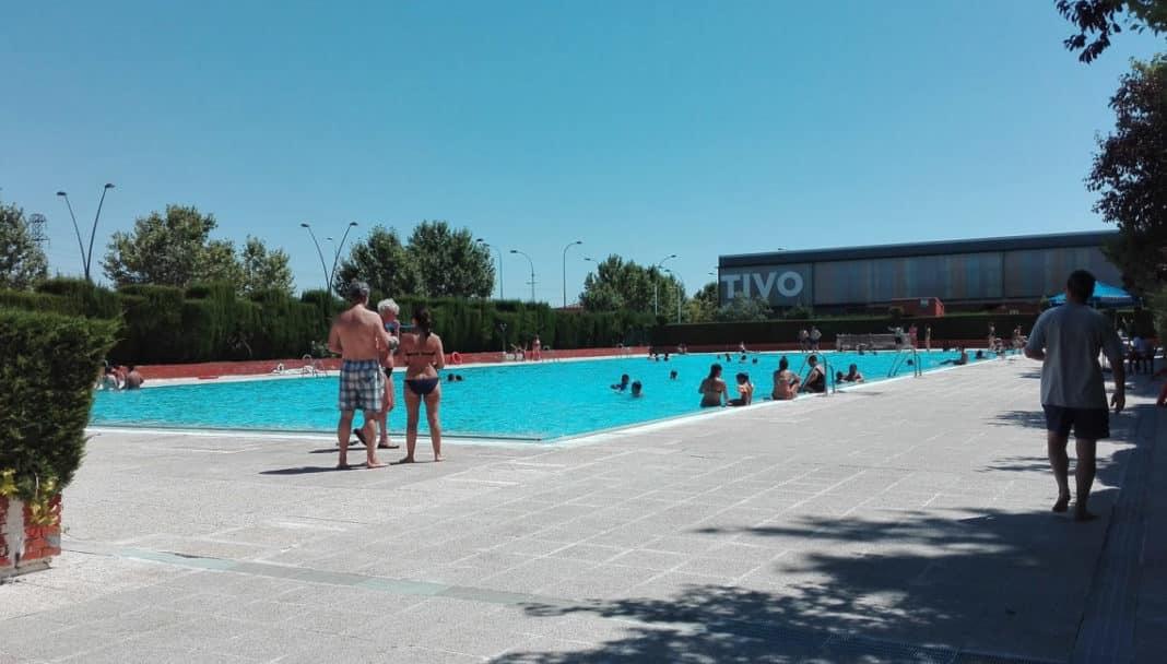 Getafe las lluvias producen una importante aver a en la for Las mejores piscinas municipales de madrid