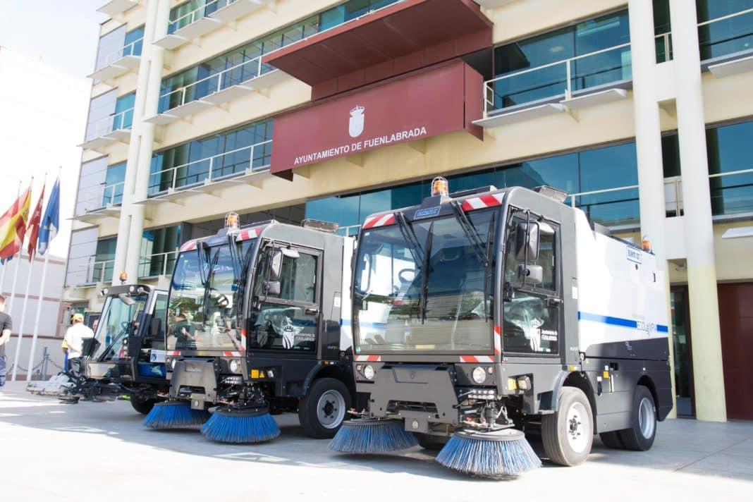 Fuenlabrada dos nuevos veh culos y un equipo para baldeo - Empresas de limpieza en fuenlabrada ...