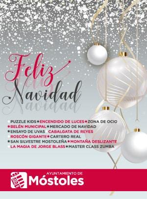 Móstoles Feliz Navidad 2017