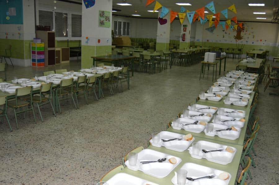 Alcorc n aprobados euros para ayudas de comedor for Ayudas para comedor escolar