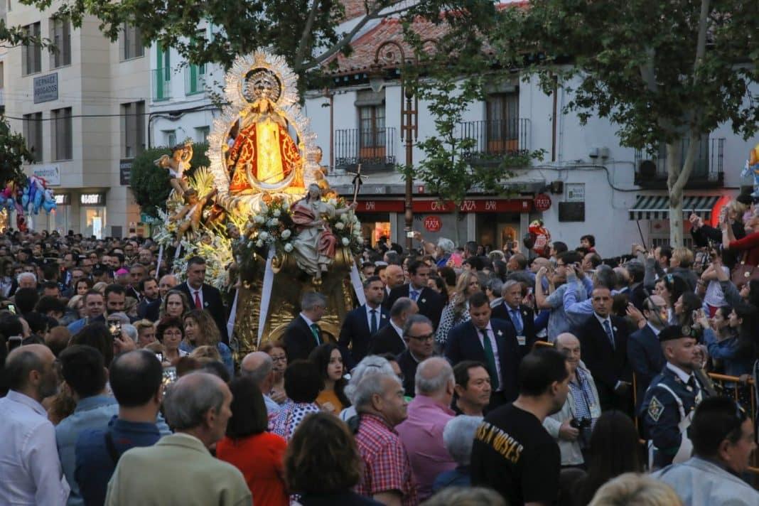 2018 Virgen voyeur en Leganés