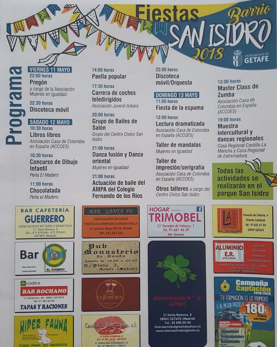 Getafe el barrio de san isidro celebra sus fiestas este for Eventos en madrid este fin de semana