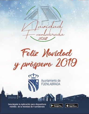 Feliz Navidad 2018 Ayto Fuenlabrada