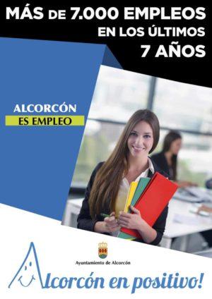 Alcorcón es empleo - Más de 7000 empleos en los últimos años - Ayto de Alcorcón