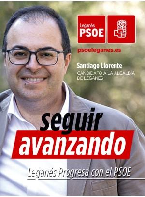 Santiago LLorente PSOE Leganés Seguir Avanznado