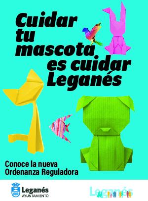 Cuidar tu mascota es cuidar Leganés