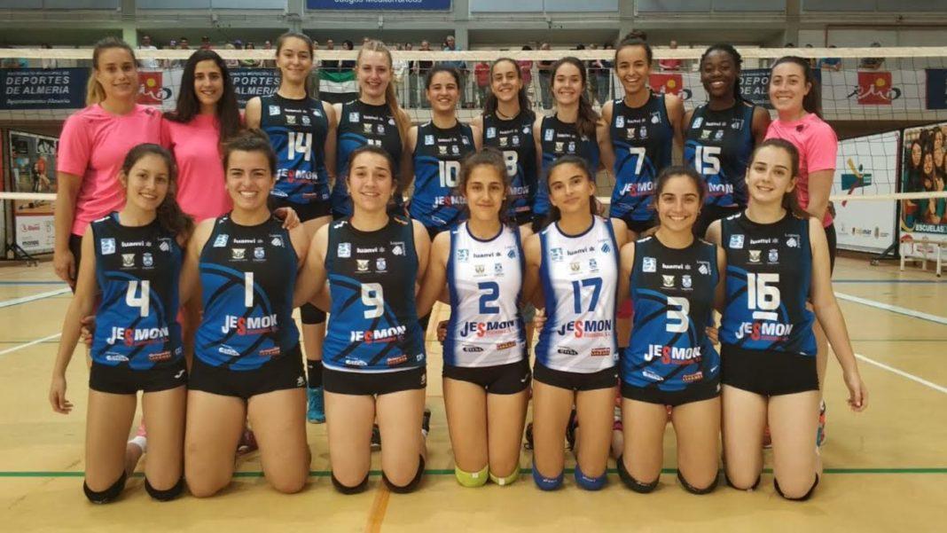 LEGANÉS/ El Club Voleibol Leganés se proclama por tercer año ...