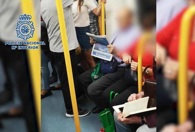 9b43c99ec1ee REGIONAL/ Detenido en el Metro de Madrid un individuo por grabar ...