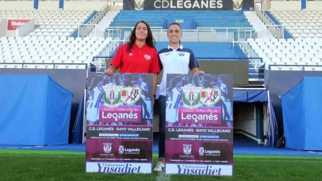 LEGANÉS/ El primer Trofeo Villa de Leganés femenino abre este ...