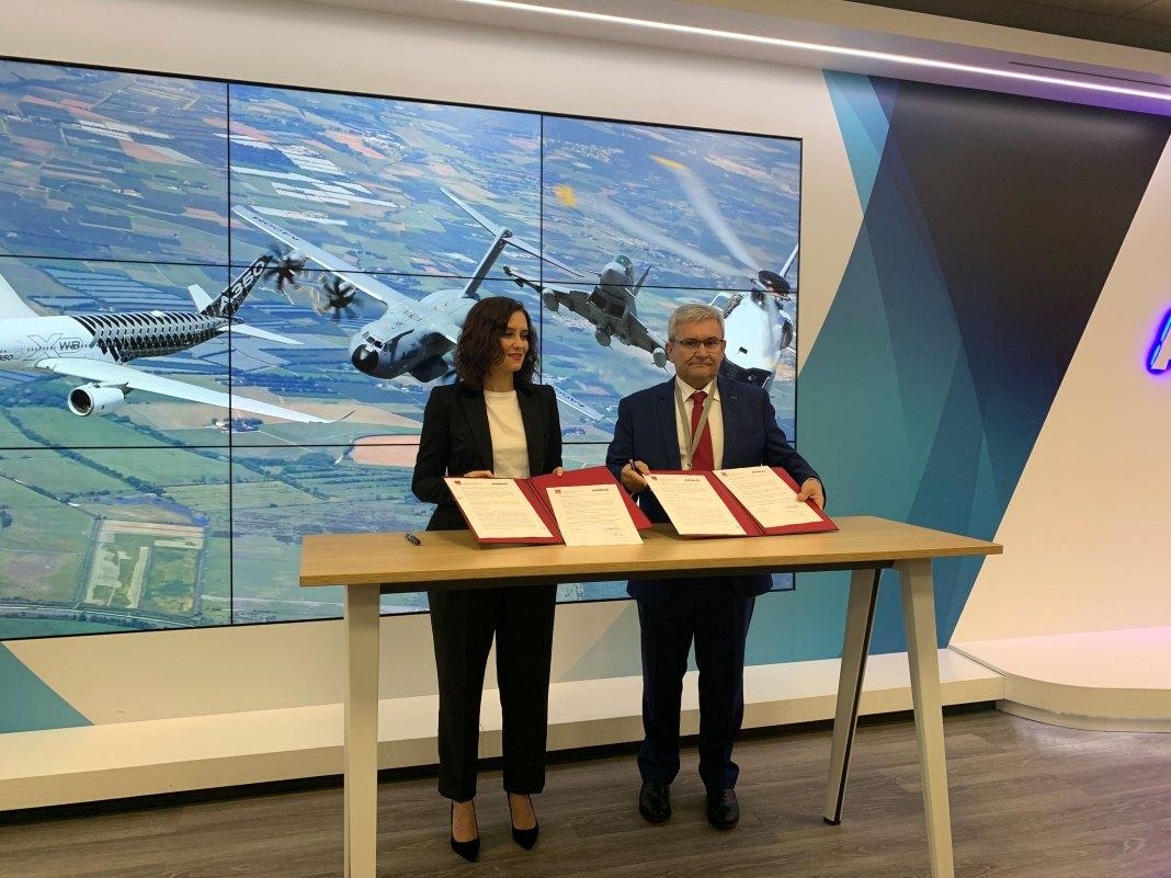 Getafe Comunidad Y Airbus Firman Un Convenio Formativo De