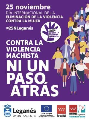 Contra la Violencia Machista - Ayuntamiento de Leganés