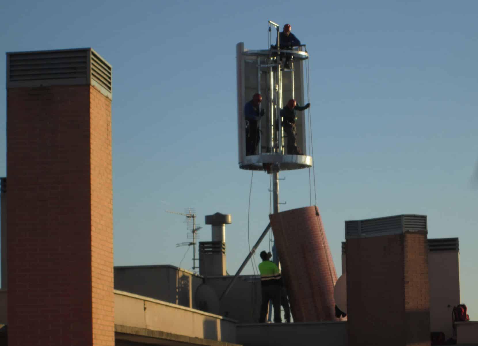 """LEGANÉS/ Vecinos denuncian la instalación de tres """"gigantescas ..."""
