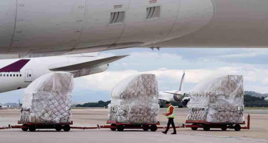 REGIONAL/ Madrid recibe más material sanitario para luchar contra ...