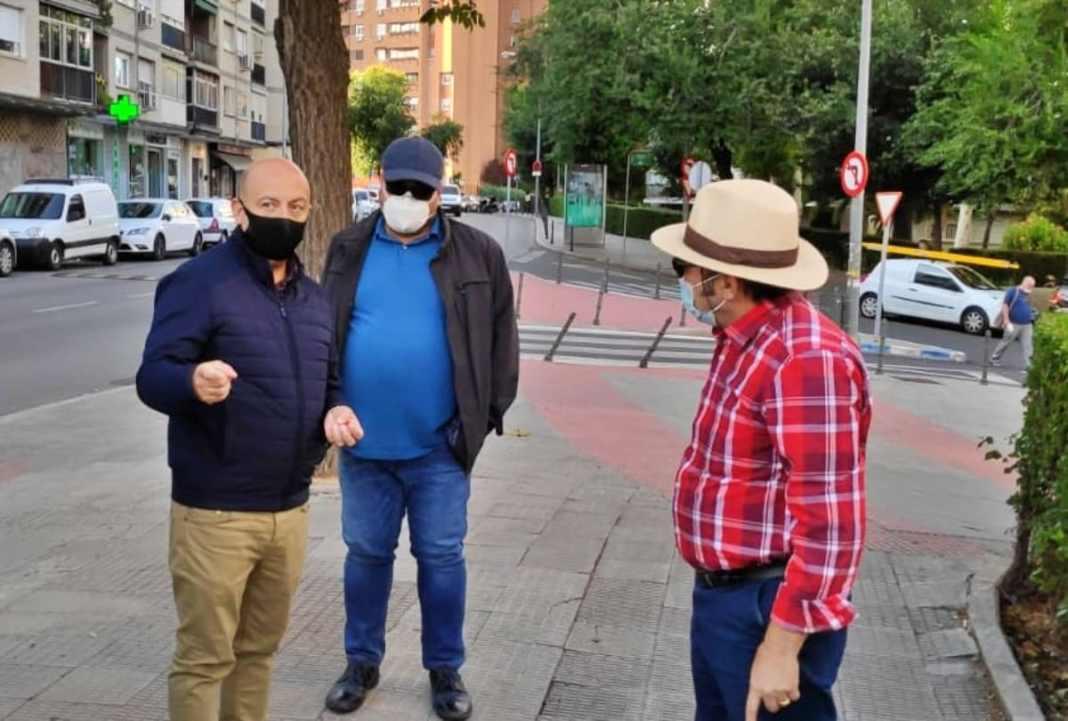 Visita cjal Politica Territorial Coslada a barrio Ciudad 70